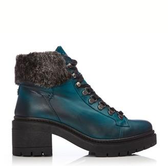Moda In Pelle Carlota Teal Leather