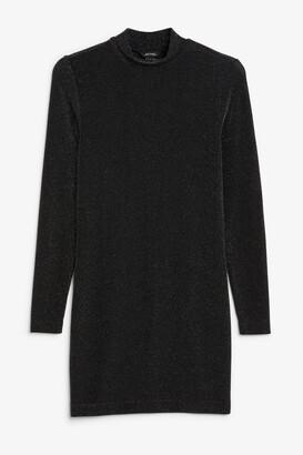 Monki Super-stretchy lurex dress