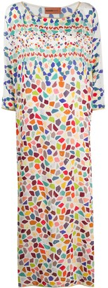 Missoni Mare Long Abstract Print Cover Up
