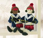 Pottery Barn Kids Plush Drummer Boy Ornament