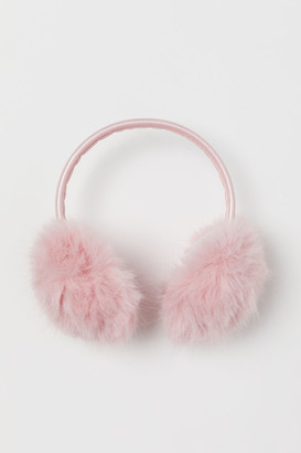 H&M Faux fur earmuffs