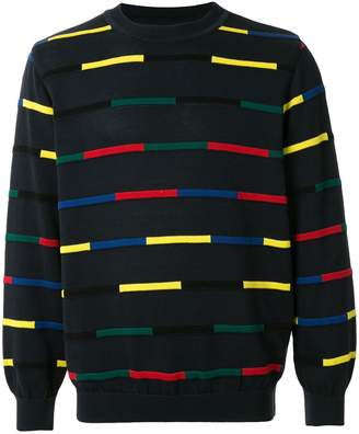Coohem knitted colour blocked jumper