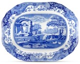 Spode Dinnerware, Blue Italian Medium Oval Platter