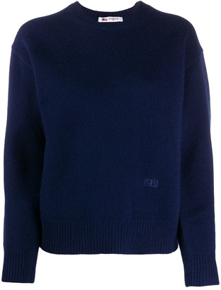 Ports 1961 Embroidered Logo Crew Neck Jumper