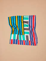 Diane von Furstenberg Saxon Stripe Oversized Square Scarf