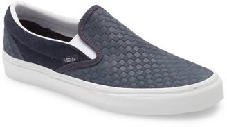 Vans Embossed Mini Check Classic Slip-On Sneaker