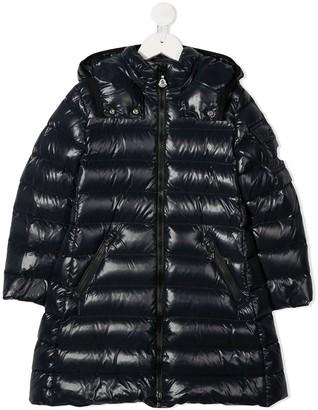 Moncler Enfant Longline Puffer Coat