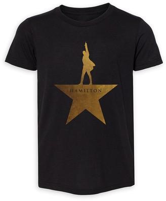 Disney Hamilton Gold Star Logo T-Shirt for Kids