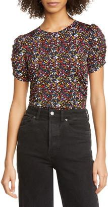Tanya Taylor Chaia Ruched Detail T-Shirt