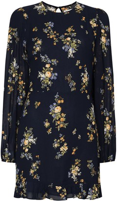 Reformation Floral-Print Mini Dress