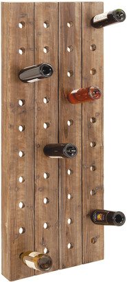 Uma Enterprises Wood Wine Rack