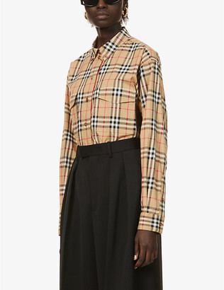 Burberry Turnstone checked stretch-cotton shirt