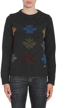 DSQUARED2 Round Collar Sweater
