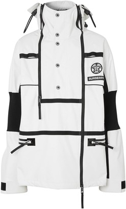 Burberry Globe Graphic Reconstructed Track Jacket