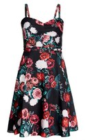 City Chic Gather Front Dress