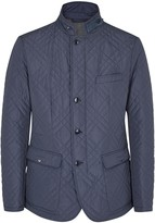 Pal Zileri Dark Blue Quilted Shell Jacket