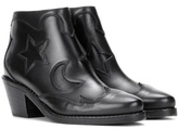 McQ Solstice leather ankle boots