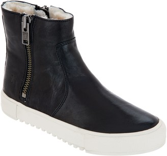 Frye Leather High Top Sneakers - Gia Lug