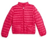 Moncler Girl's Lans Water Resistant Down Jacket