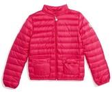 Moncler Toddler Girl's Lans Water Resistant Down Jacket