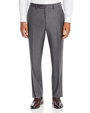 The Men's Store at Bloomingdale's Sharkskin Classic Fit Dress Pants - 100% Exclusive
