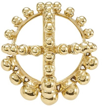 Patou Round brooch with pearls
