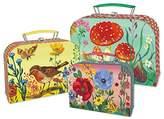 Vilac Vilac8645 Cardboard Suitcases Set by Nathalie Lete (3-Piece)