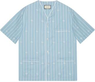 Gucci GG stripe shirt