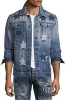 PRPS Star Patched Denim Jacket