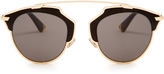 Christian Dior So Real leather sunglasses