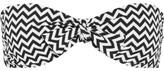 Melissa Odabash Aruba Crochet-knit Bandeau Bikini Top - Black
