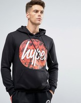Hype Hoodie With Fire Logo
