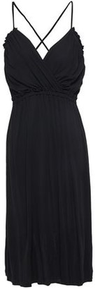 Vanessa Bruno Leonie Wrap-effect Gathered Jersey Dress