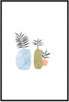 Jonathan Bass Studio Potted Fern 5, Decorative Framed Hand Embellished