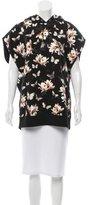 Givenchy Butterfly Print Sleeveless Sweatshirt