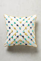 Anthropologie Suzette Tasseled Pillow