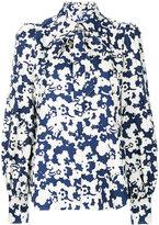 Marc Jacobs floral print shirt - women - Silk - 2