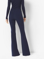 Michael Kors Stretch-Cotton Flared Trousers
