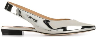 Sergio Rossi Sling-Back Pointed Toe