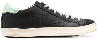 P448 flat lace-up sneakers