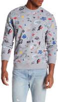 Knowledge Cotton Apparel Concept Patterned Sweatshirt