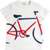 Il Gufo Bike Printed Cotton Jersey T-Shirt
