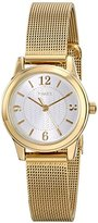 Timex Women's T2P4589J Main Street Modern Minis Gold-Tone Watch