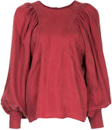 TOMORROWLAND balloon sleeve blouse