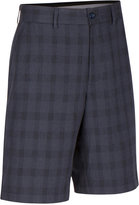 Greg Norman for Tasso Elba Men's Big & Tall Willis Plaid Shorts, Only at Macy's