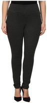 Jag Jeans Plus Size Ricki Pull-On Legging in Charcoal Heather