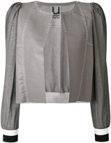 Aviu cropped panel jacket
