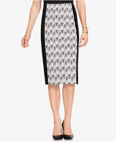 Vince Camuto Jacquard Pencil Skirt