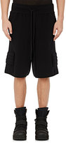 Hood by Air MEN'S FRACTURED SHORTS-BLACK SIZE M