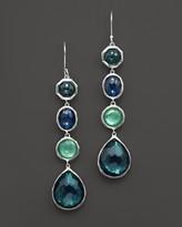 Ippolita Rock Candy® Sterling Silver 4 Stone Drop Earrings in Neptune